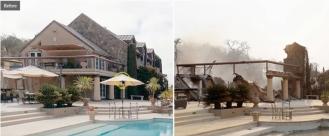 house fire comparison